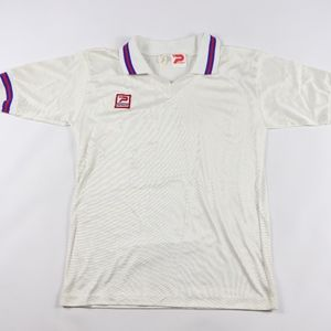80s New Patrick Mens XL Spell Out Soccer Jersey